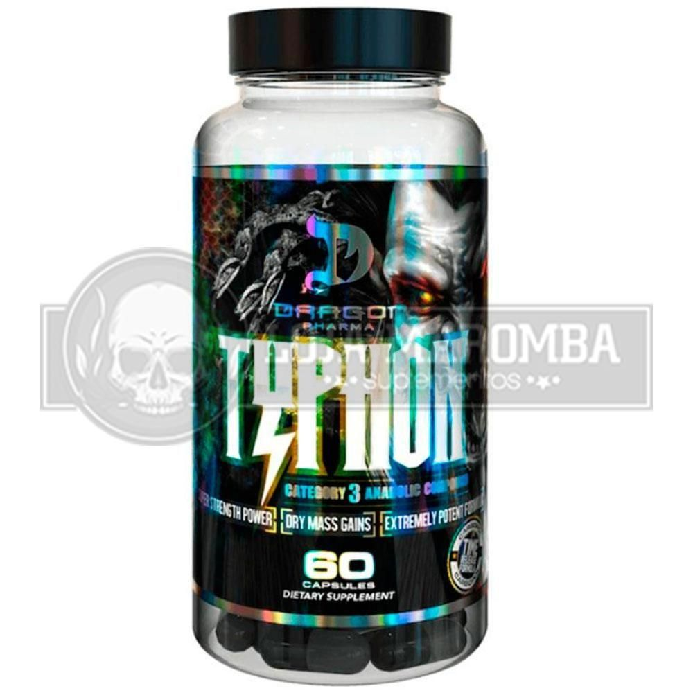 Typhon (60caps) - Anabolic Compound Categoria 3 - Dragon Pharma