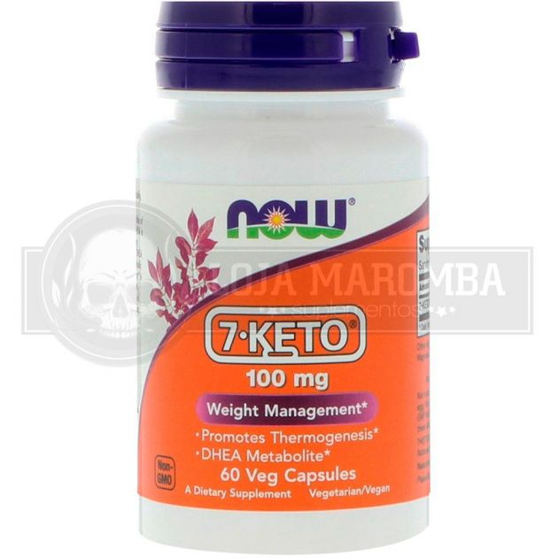 7 KETO DHEA 100mg (60 Vcaps) - Now Foods