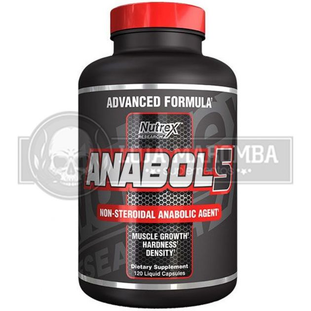 Anabol 5 Black (120 Caps) - Nutrex