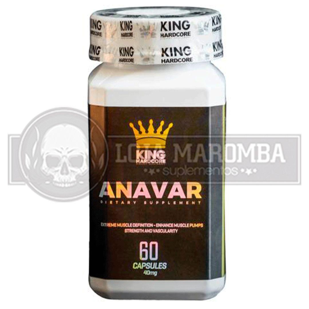 Anavar 20mg (60 caps) - King Hardcore