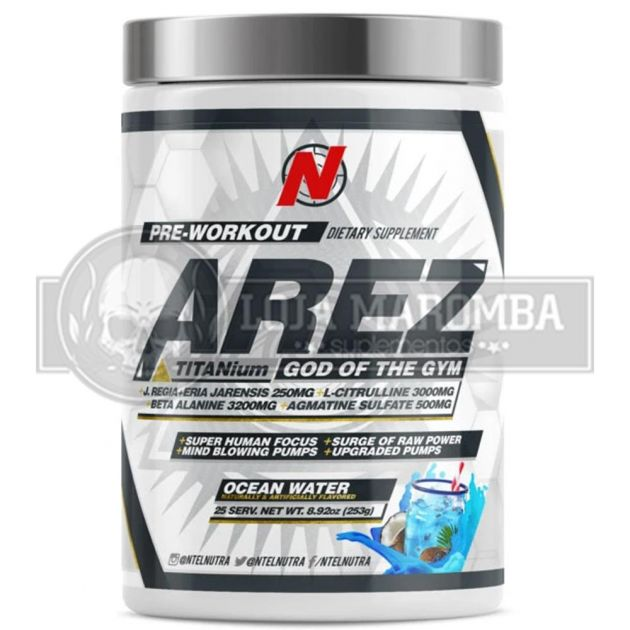 AREZ God of the Gym (311gr) - NTel Pharma