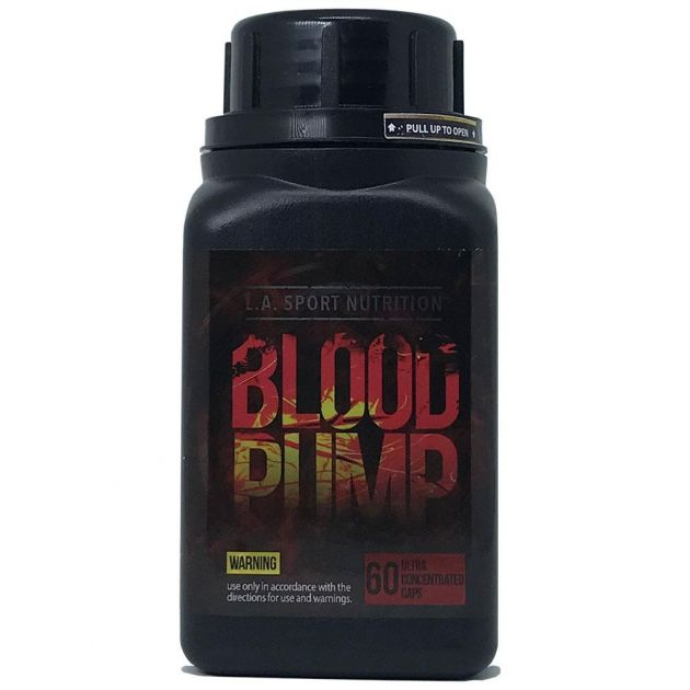 Blood Pump (60 Capsulas) - L.A Sport Nutrition