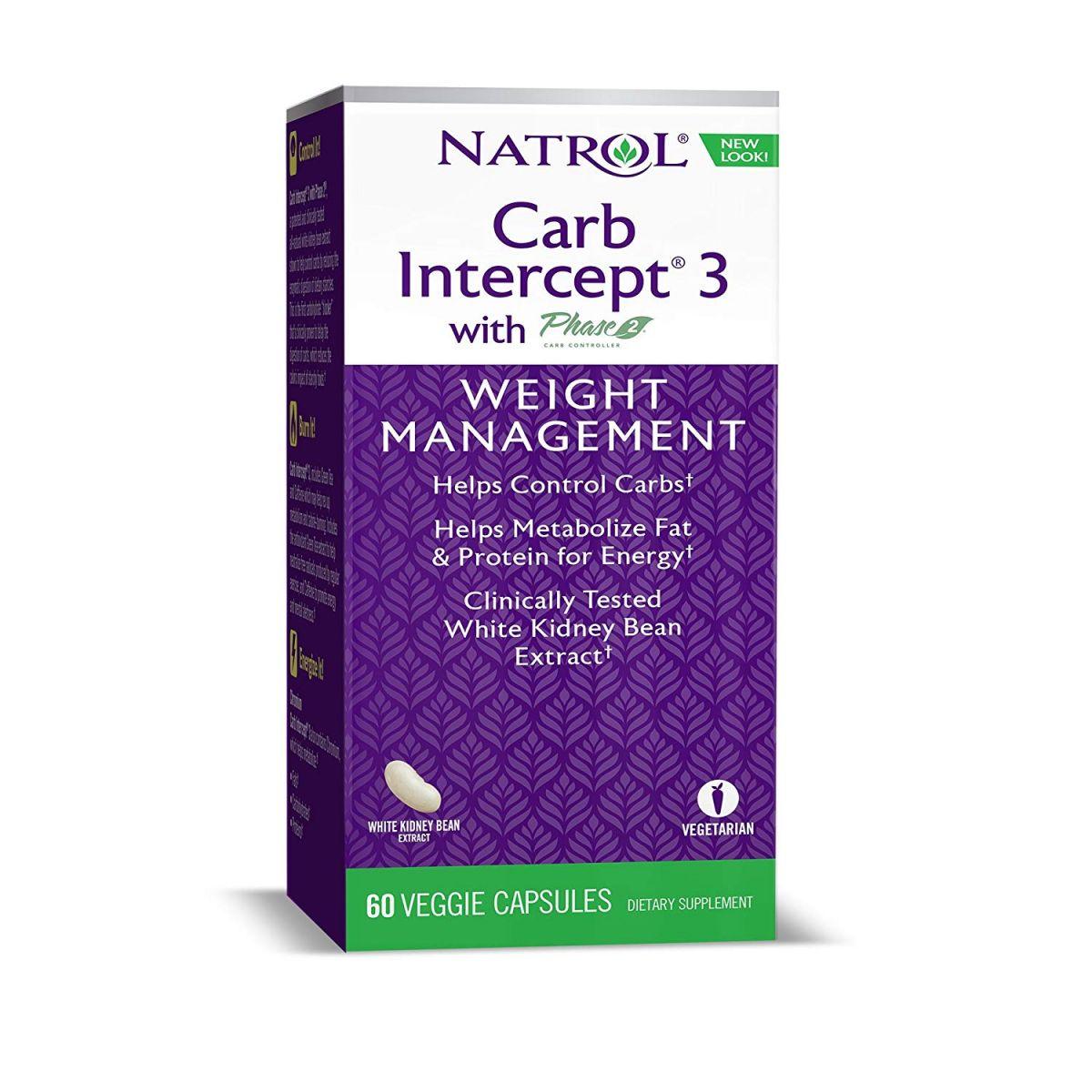 Carb Intercept Phase 3 (60 Cápsulas) - Natrol