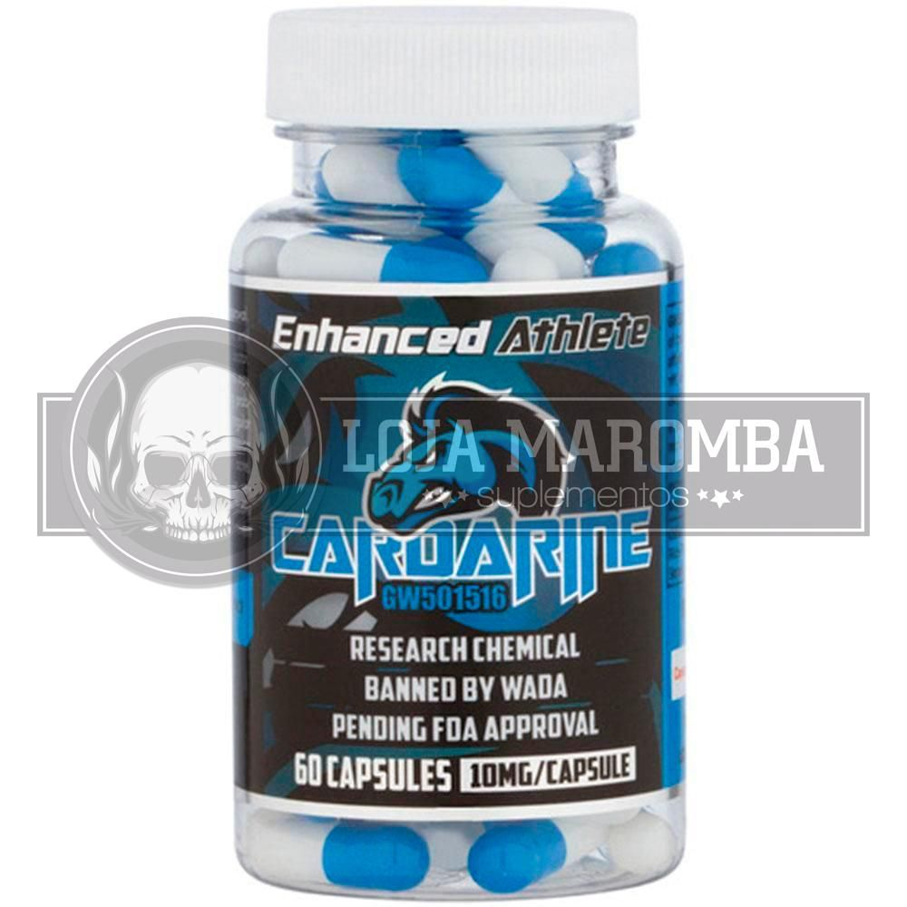 Cardarine 10mg (GW501516,Endurobol) 60 Caps - Enhanced Athlete