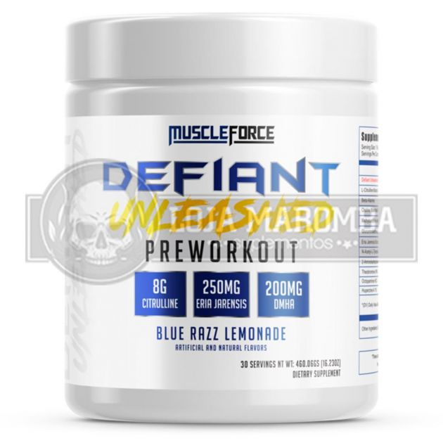 Defiant Unleashed (30 Doses com DMHA) - MuscleForce
