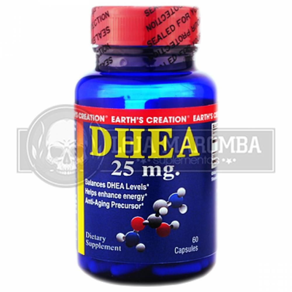 DHEA 25 Mg (60caps) - Earth's Creation USA