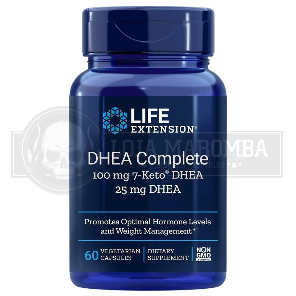 DHEA Complete (60 cápsulas) - Life Extension