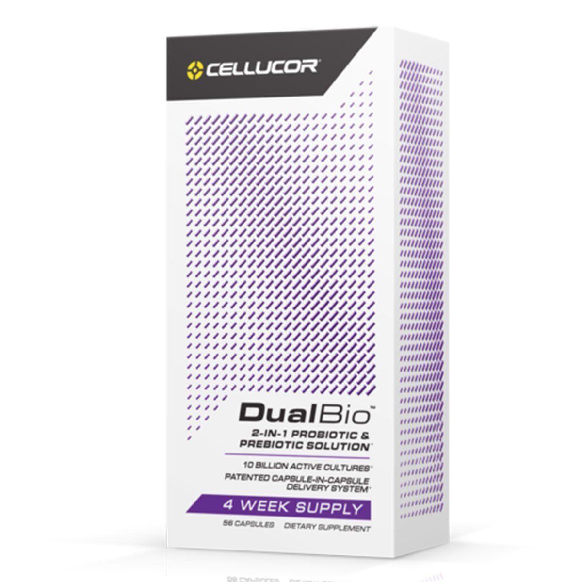 DualBio Probiótico e Prebiótico (56 Caps) - Cellucor