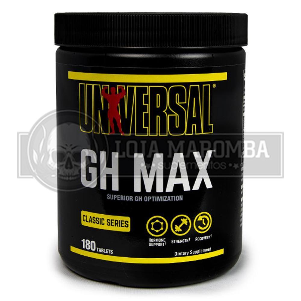 GH MAX (180tabs) Universal Nutrition - Versão Americana