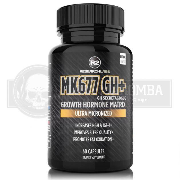 GH+ (Mk677) 12,5mg (60 Caps) - R2 Research Lab