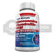 Glucosamina Condroitina Plus MSM (60 caps) - Earth's Creation