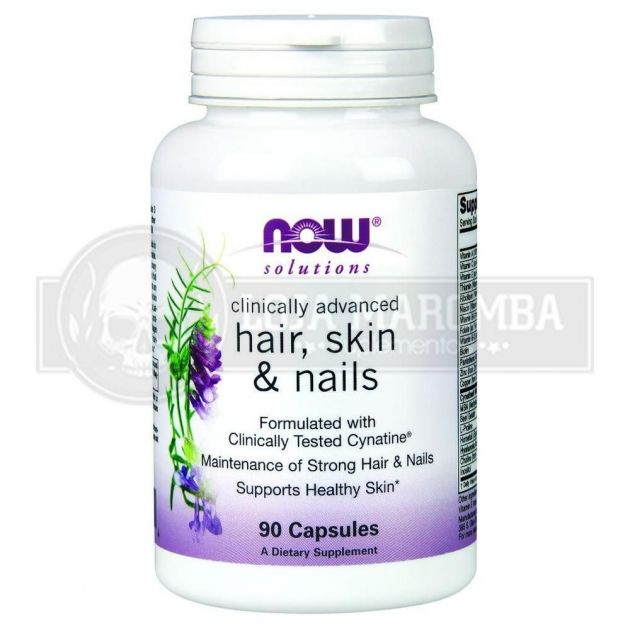 Hair, Skin & Nails (90 caps) - Now Foods