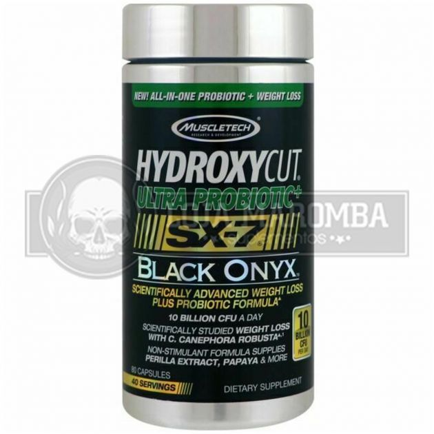Hydroxycut Ultra Probiotic SX-7 Black Onyx (80 Caps) - Muscletech