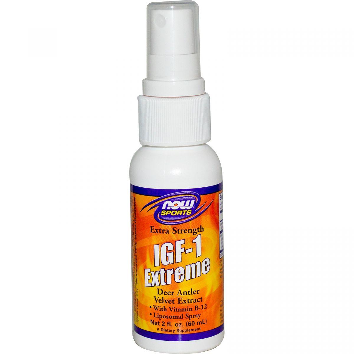 IGF-1 Spray Extreme ( 60ml ) - Now Foods