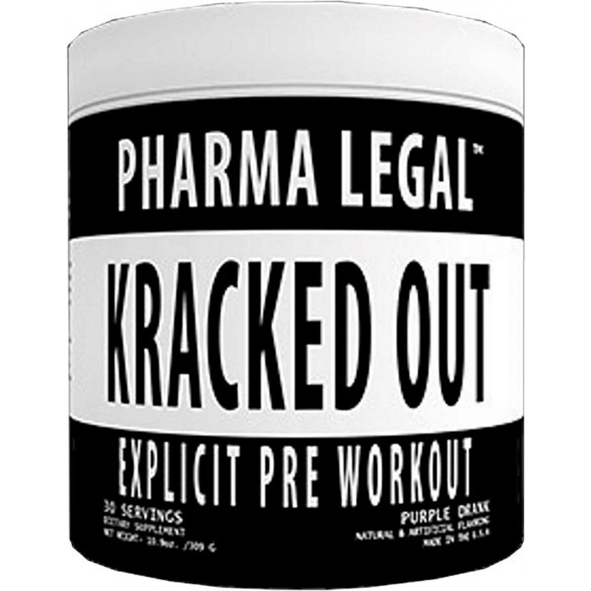 Kracked Out (30Doses) - Pharma Legal