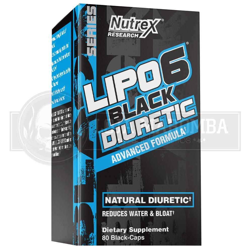 Lipo 6 Black Diuretic (80 caps) - Nutrex