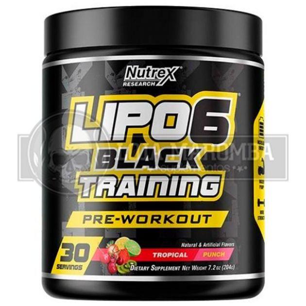 Lipo 6 Black Training (30 doses) - Nutrex