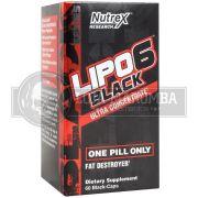 Lipo 6 Black Ultra Concentrado (60caps) - Nutrex (Nova Embalagem)