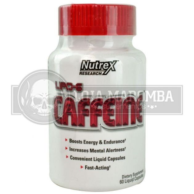 Lipo 6 Caffeine (60 cápsulas) - Nutrex