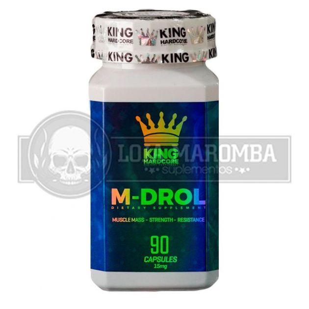 M-Drol 10mg (90 Cápsulas) - King Hardcore
