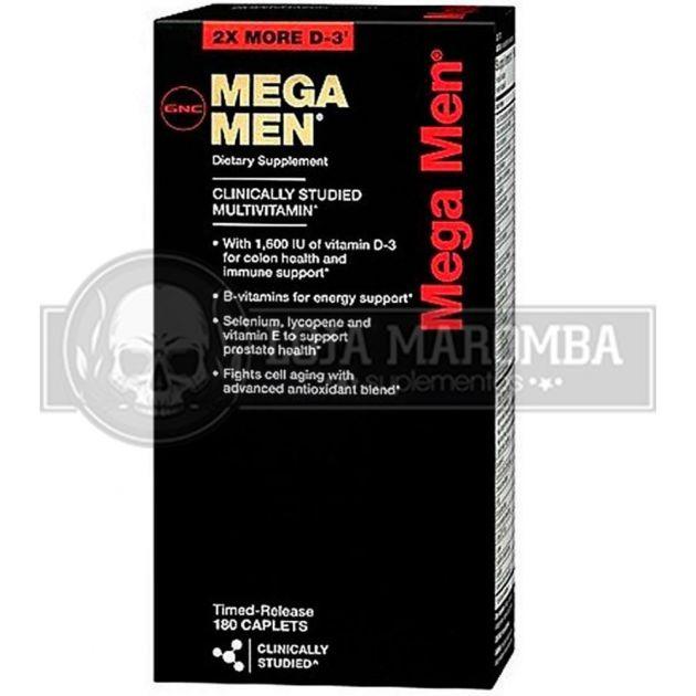 Mega Men (180 Tabs) - GNC