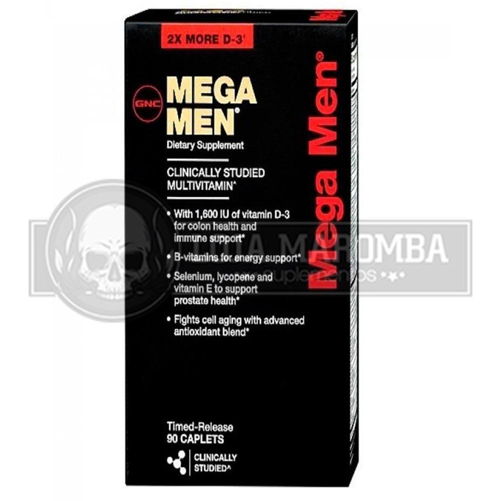 Mega Men (90 Tabs) - GNC
