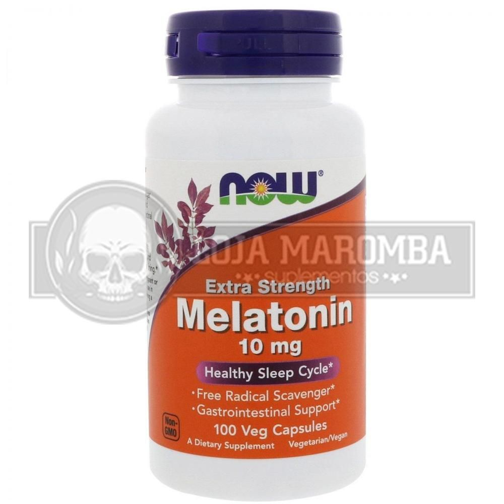 Melatonina 10mg (100 cps) Now Foods