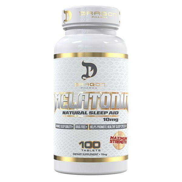 Melatonina 10mg (100tbs) - Dragon Pharma