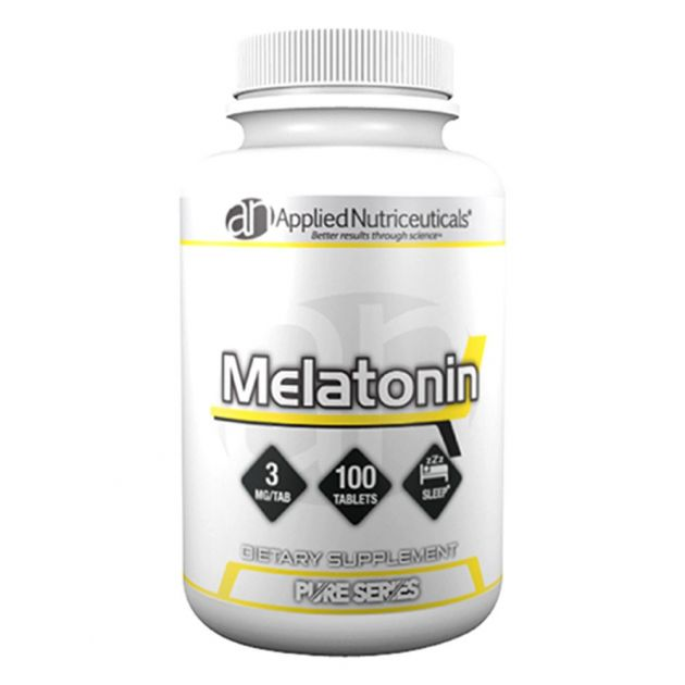 Melatonina 3mg (100 Tabletes) - Applied Nutriceuticals