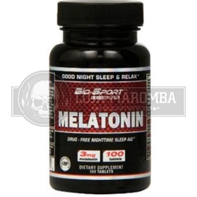 Melatonina 3mg (100cps) -Bio Sport