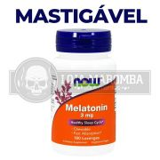 Melatonina 3mg (180 cps) Now Foods