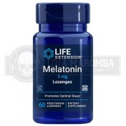 Melatonina 3mg (60 Cápsulas) - Life Extension