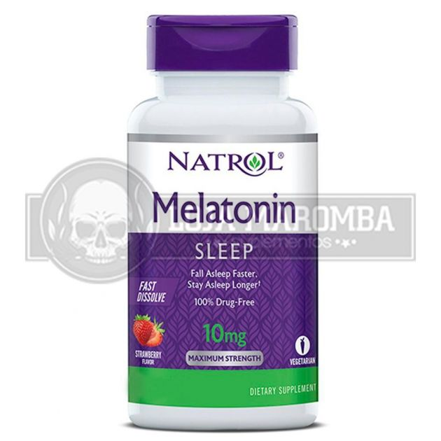 Melatonina Sublingual 10mg (100Tabs) - Natrol