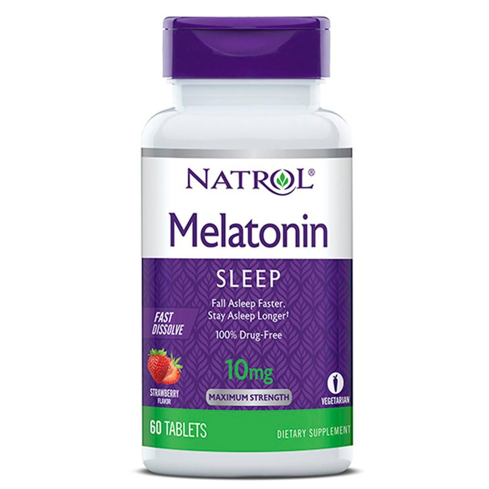 Melatonina Sublingual 10mg (60Tabs) - Natrol