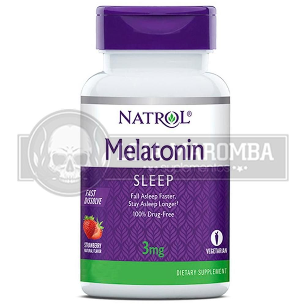 Melatonina Sublingual 3mg (90tabs) - Natrol