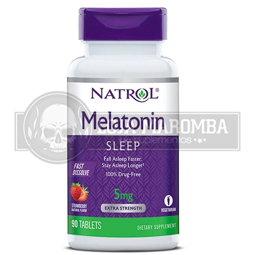 Melatonina Sublingual 5mg (90tabs) - Natrol