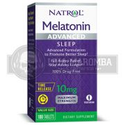 Melatonina Advanced Sleep Time Release 10mg (100 Tablets) - Natrol