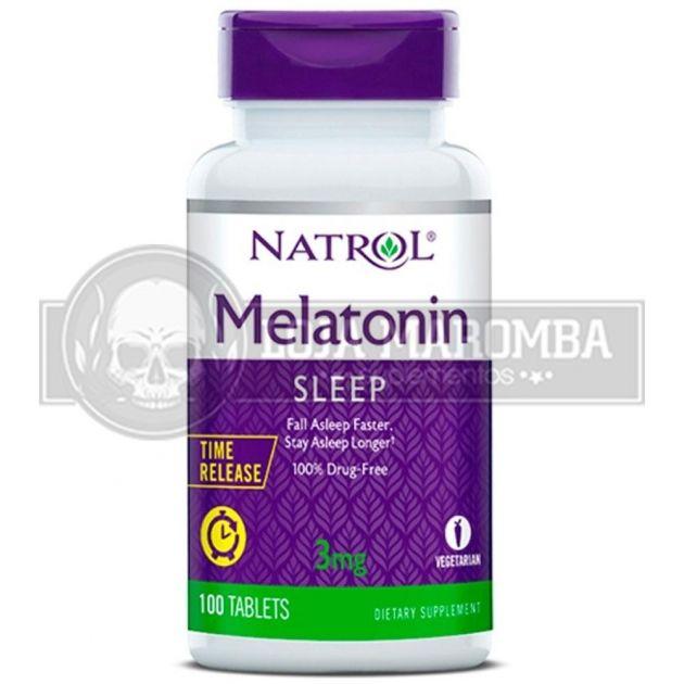 Melatonina Time Release 3mg (100 Tablets) - Natrol