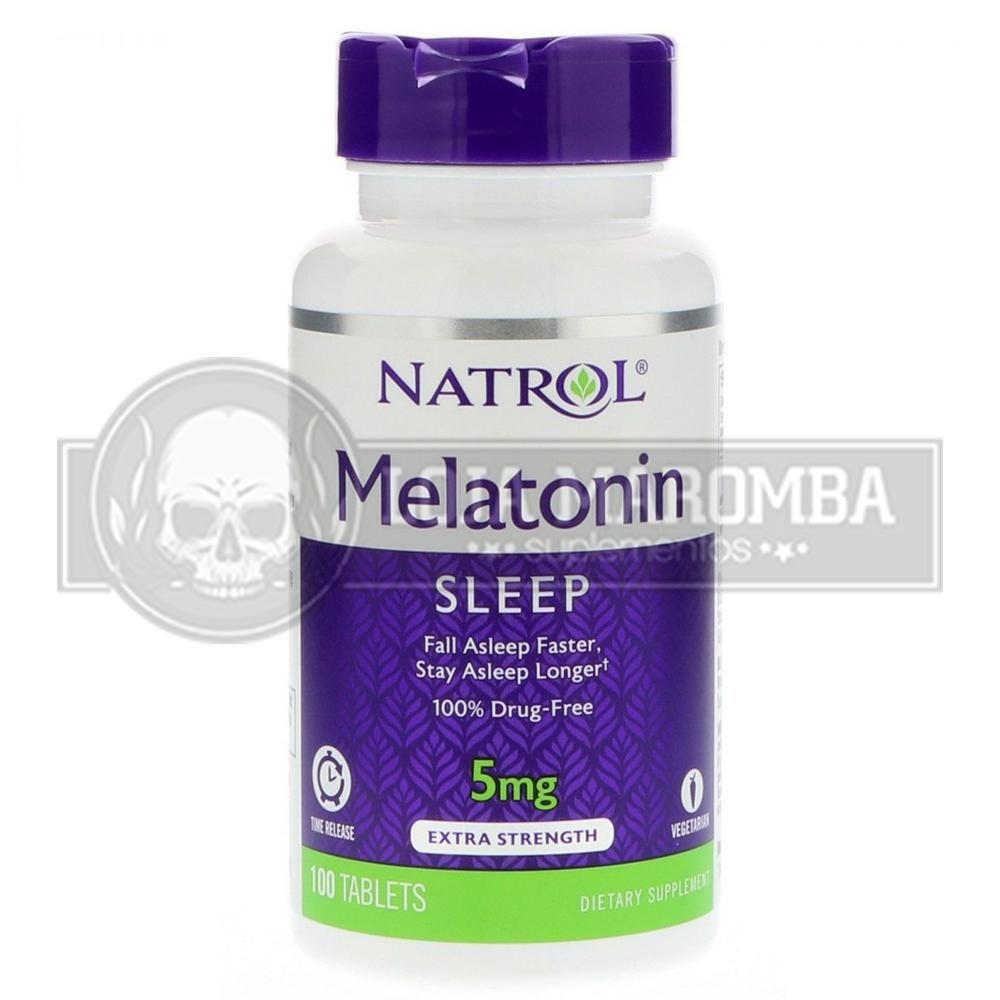 Melatonina Time Release 5mg (100 Tablets) - Natrol