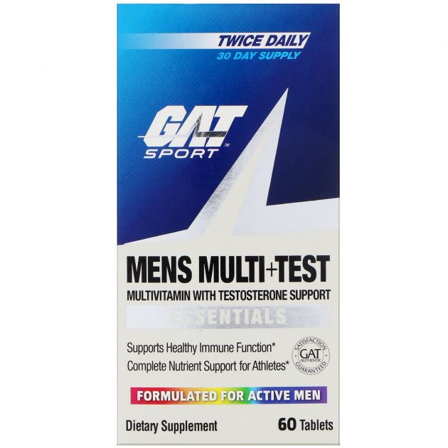 Mens Multi + Test (60 Tabs) - GAT