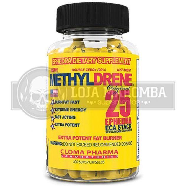 Methyldrene 25 Ephedra ECA Stack (100 Caps) – Cloma Pharma