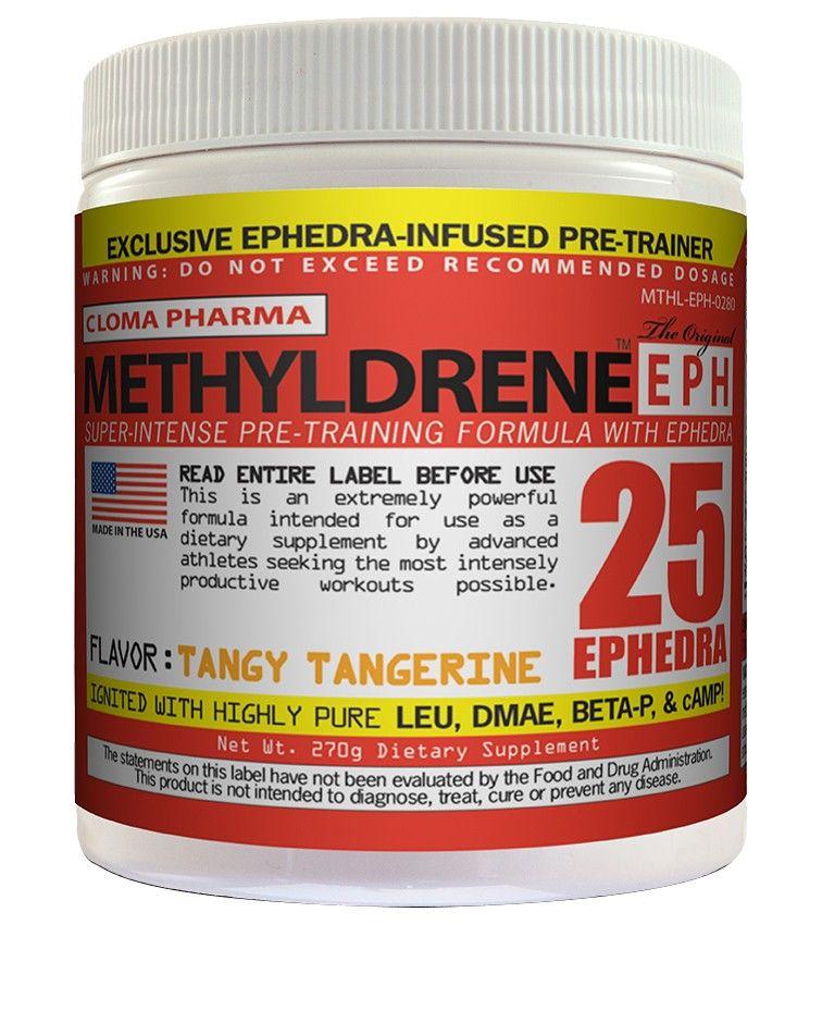Methyldrene EPH 25Mg de Efedrina (45Doses) - Cloma Pharma