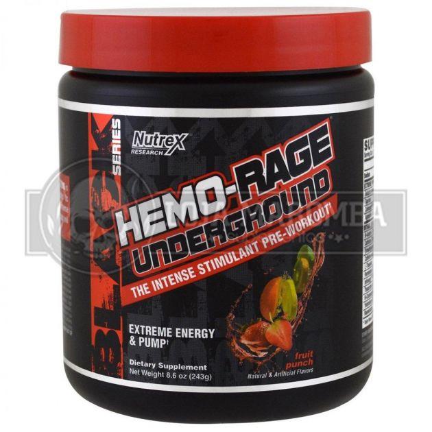 Hemo Rage Black Undergoud (30 Doses) - Formula Americana