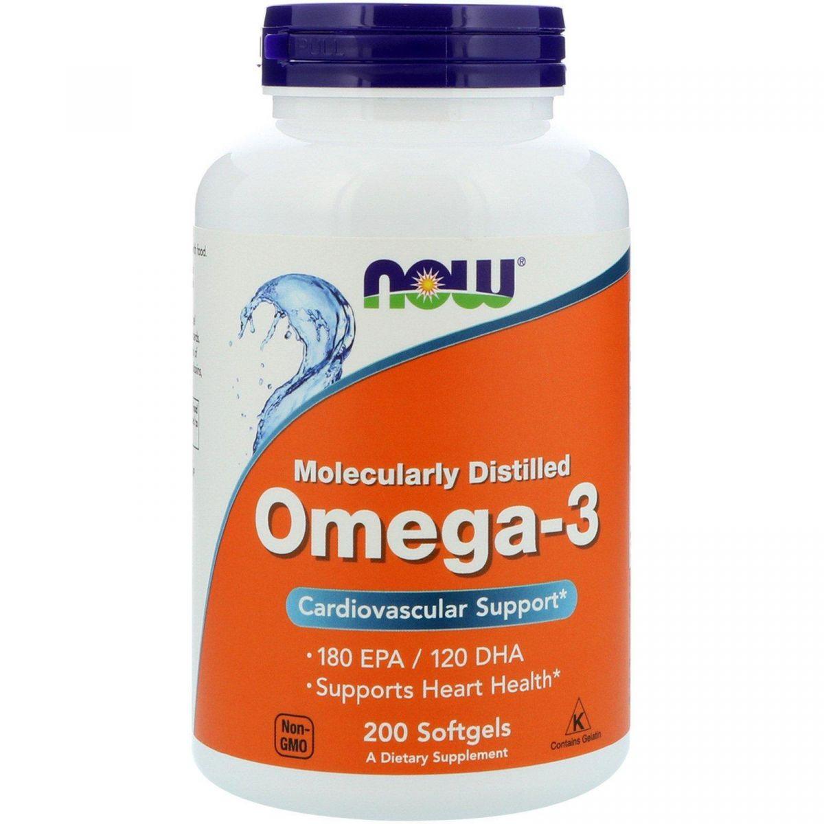 Ômega 3 (200 Softgels) - Now Foods