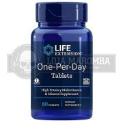 One Per Day Multivitamínico (60 tabletes) - Life Extension