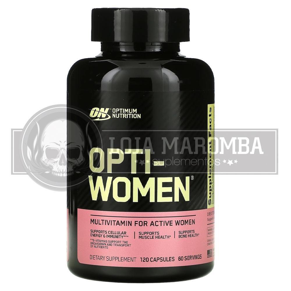 Opti Women (120 Cápsulas) - Optimum Nutrition