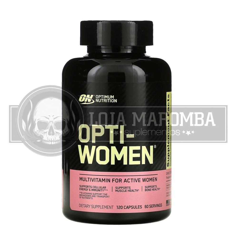 Opti-Women (60 Cápsulas) - Optimum Nutrition