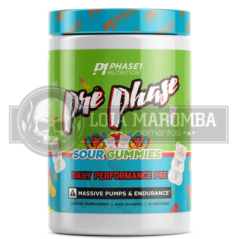 Pre Phase 387g (30 Doses) - Phase One Nutrition com DMHA