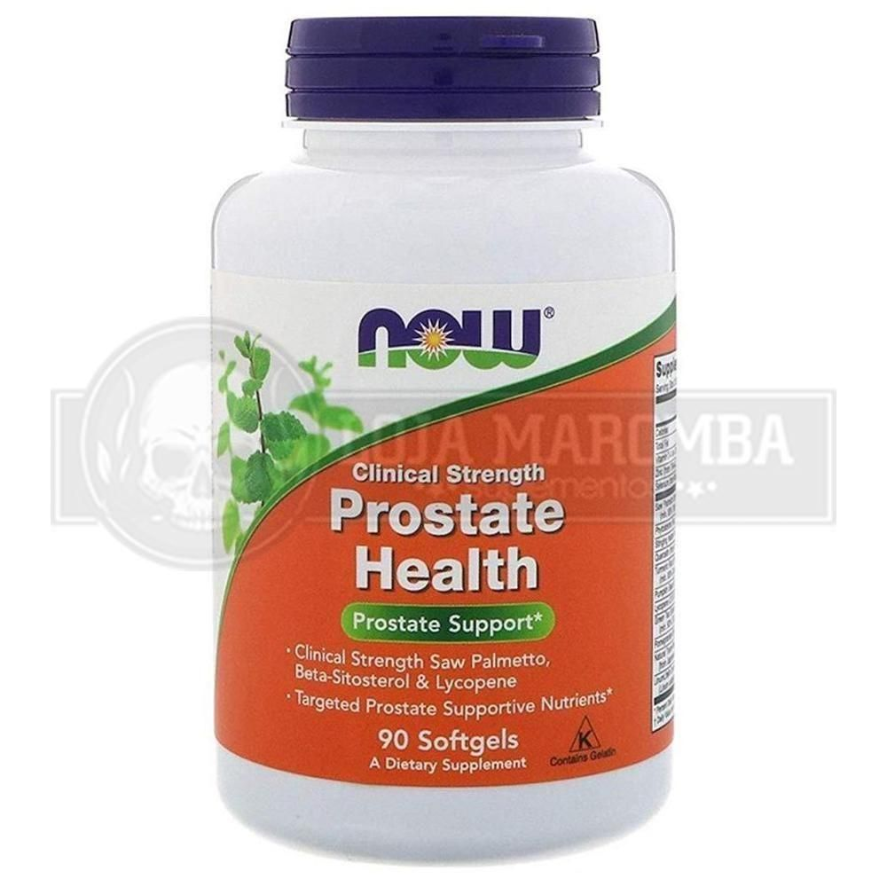 Prostate Health (90 Softgels) - Now Foods (VALIDADE 06/2021)