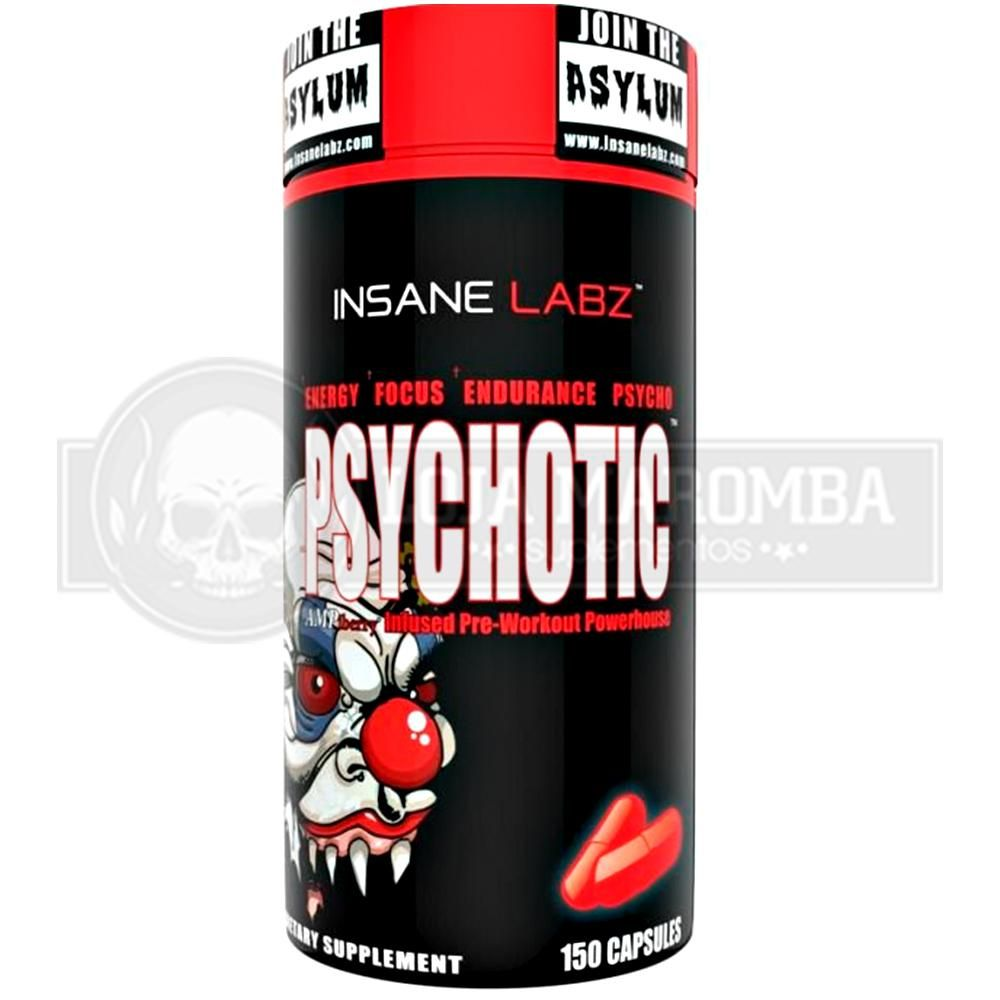 Psychotic (150 caps) - Insane Labz